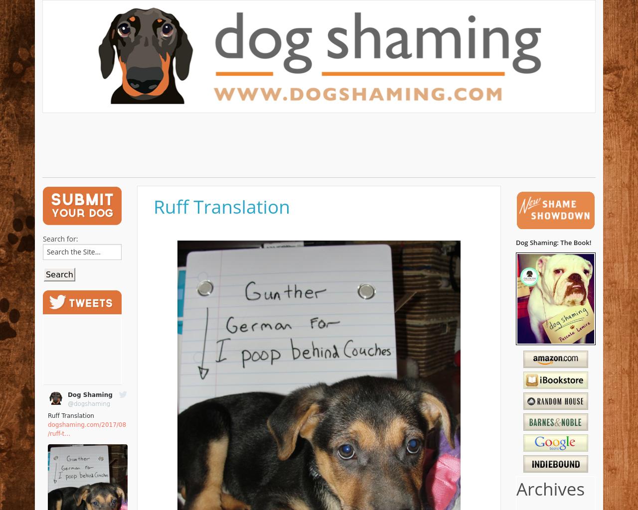 Dogshaming-Advertising-Reviews-Pricing
