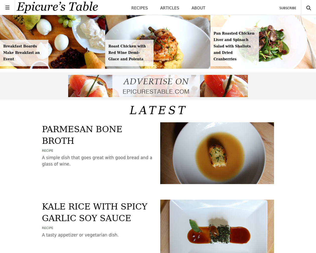 Epicure's-Table-Advertising-Reviews-Pricing