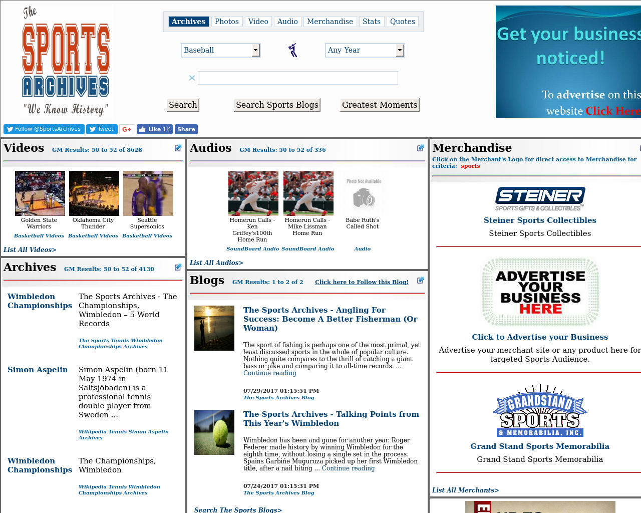 The-Sports-Archives-Advertising-Reviews-Pricing